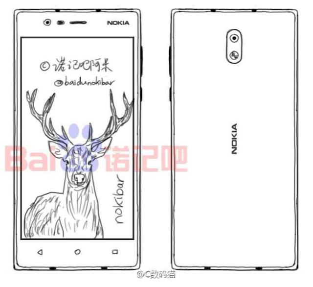 Desain dan spesifikasi Nokia D1C beredar, dibekali chip Snapdragon 600 dan RAM 4GB