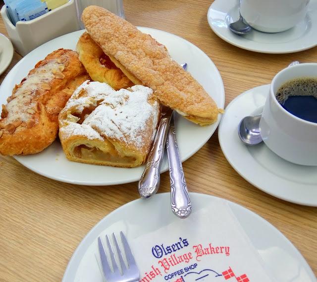 Olsens bakery for many danish pastries