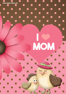 i love you mother bird baby bird happy mothers day greetings