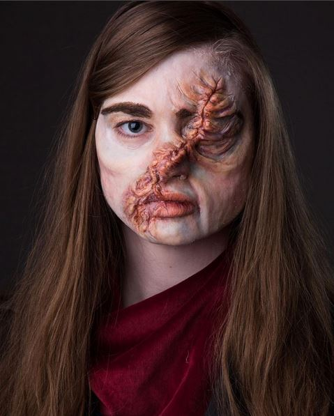 hester shaw face scar make up