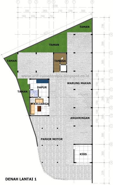Desain Rumah Kos Kosan Yang Sehat : desain, rumah, kosan, sehat, KOS-KOSAN, SEHAT, DENGAN, CAHAYA, UDARA, ALAMI, Rumah, Tropis