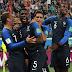 Goles - Francia 1-0 Bélgica