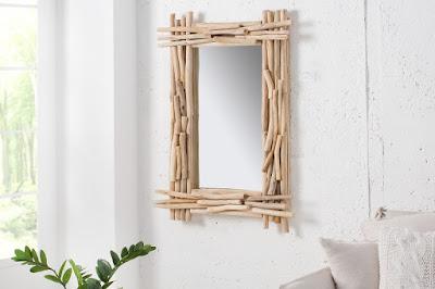 zrcadla Reaction, nábytek ze dřeva, masivní nábytek