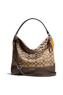 Coach กระเป๋าสะพายมีหูหิ้วสำหรับผู้หญิง