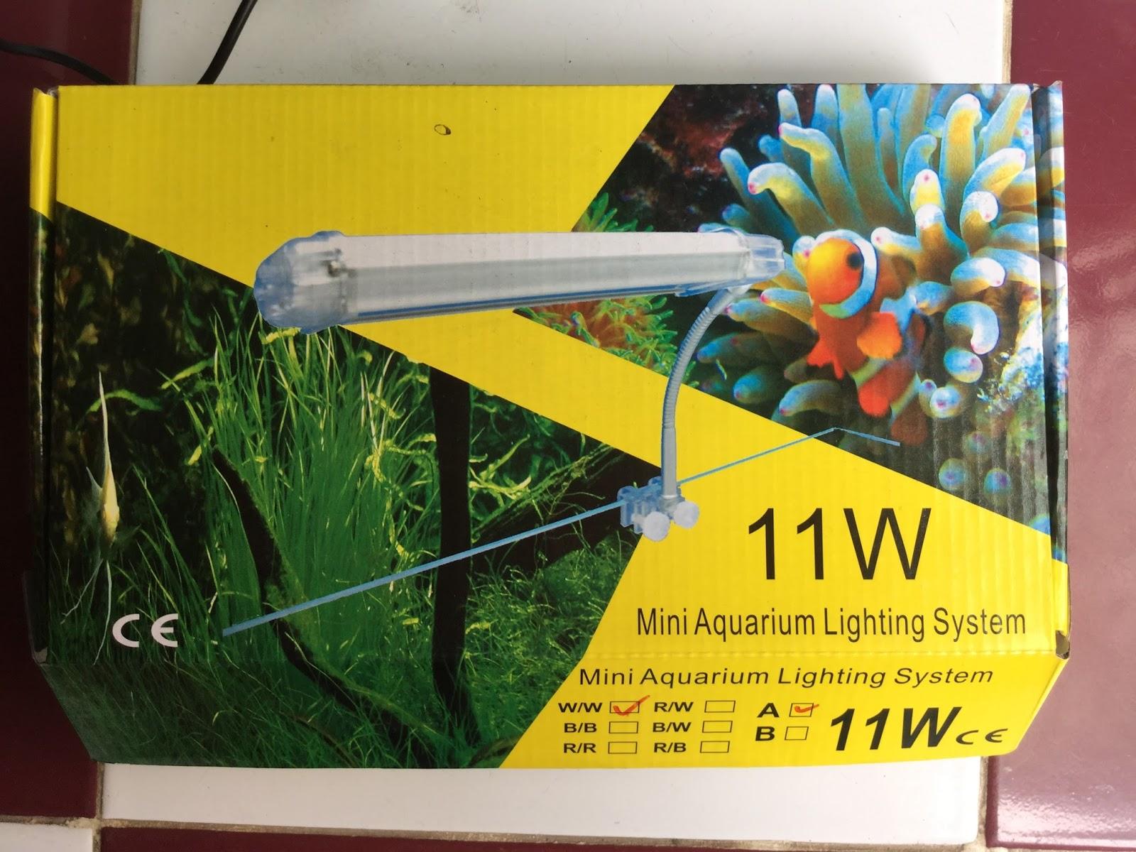 Các loại đèn thủy sinh đang có tại Vinh Aqua