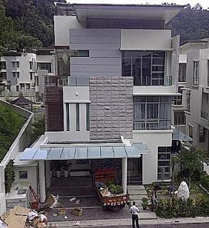 Desain Rumah Mewah Zahida Rafik Yang Berkesan Modern
