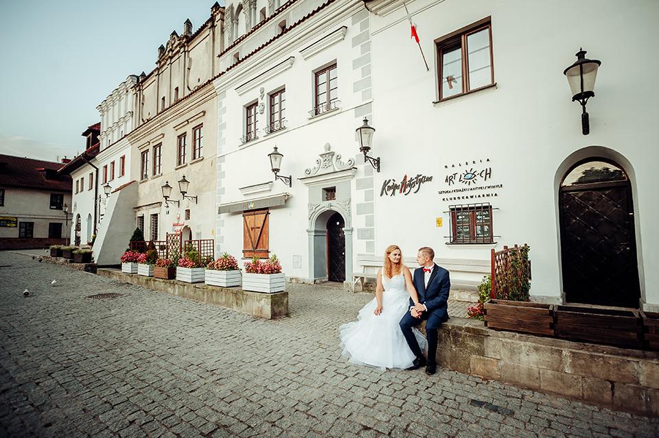 plener ślubny, Kazimierz Dolny nad Wisłą, sesja ślubna, fotograf Lublin
