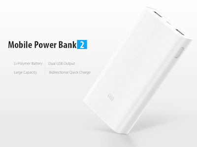 รีวิว Xiaomi Power bank แบตสำรองรุ่น v.2 Quick Charge 3.0 1