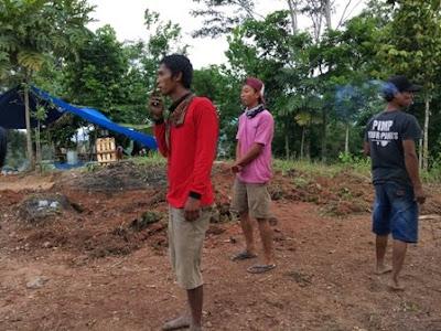Wisata Bukit Pangonan Owner Meratakan tanah