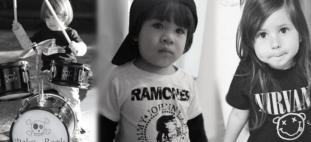 0d55f27007 Roupas de Bebe Diferentes: Rock e Personalidade, roupas de rock infantil