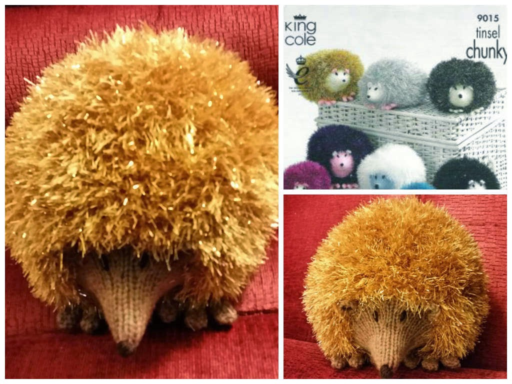 Tinsel Hedgehog Knitting Pattern : Paulineknit ~ A life of hand knitting : An Array of Hedgehogs