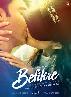 befikre movie 2016 poster hindi