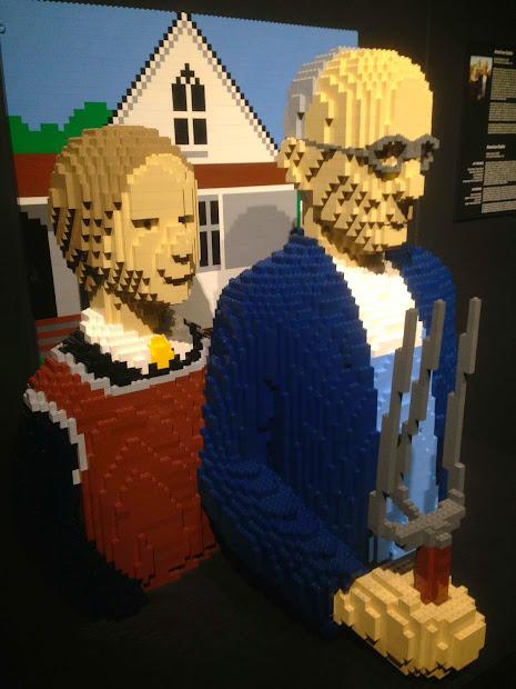 Cheung Family Adventures Lego Art - Nathan Sawaya