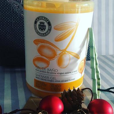 Gel de Baño, Aceite de Oliva Virgen extra y Miel: La Chinata