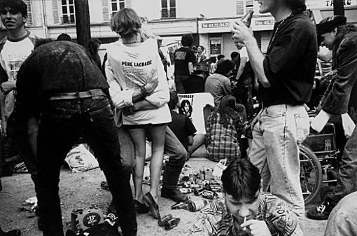 anniversaire 3 juillet 1991 vingtième année mort trépas Jim Morrison Père Lachaise Père-Lachaise ferme franck chevalier paris
