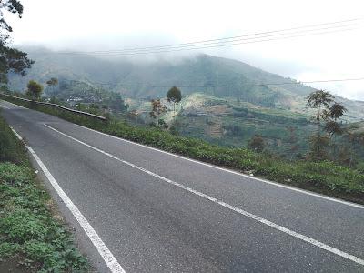 Jalur Wonosobo Dieng Wisata Candi Arjuna Banjarnegara Sangat Mempesona