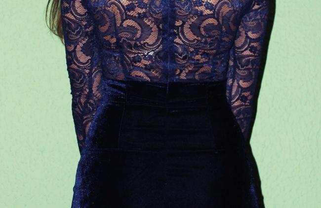 haljina sa detaljima od cipke
