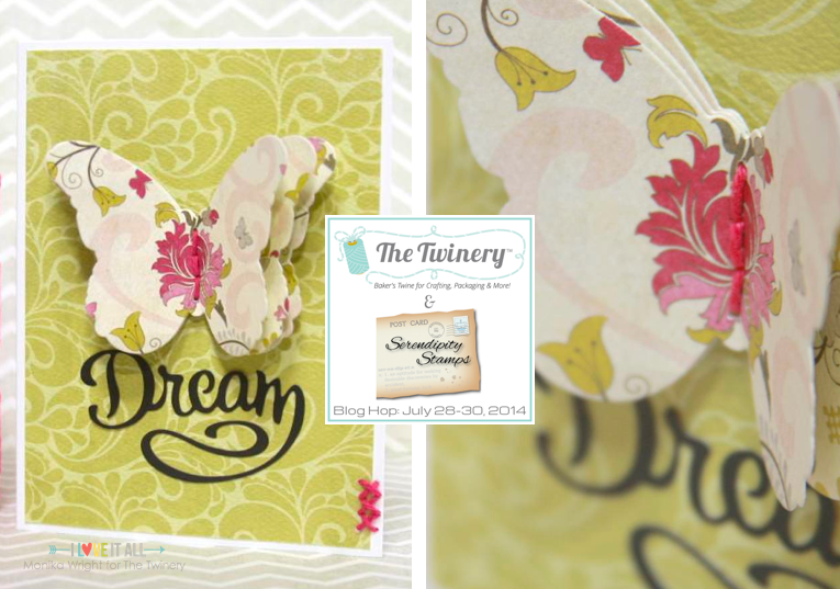 iloveitallwithmonikawright.com | Butterfly Dream Card