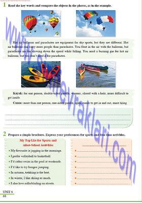8. Sınıf İngilizce Tutku Yayınları Ders Kitabı Cevapları Sayfa 68