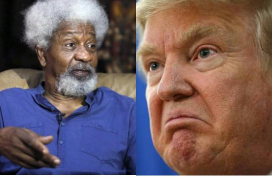 BREAKING!! PROF WOLE SOYINKA IGNORES DONALD TRUMPS WARNING, DESTROYS HIS 'GREEN CARD'- WHAT HAPPENED NEXT, WILL SHOCK YOU