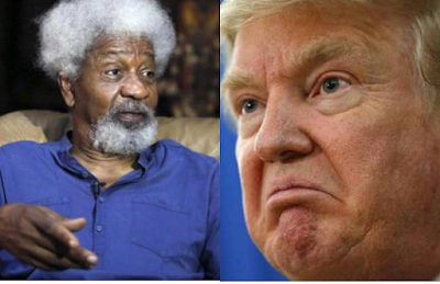 Wole Soyinka Is Being Mocked On Twitter For Saying He Will Destroy His Green Card If Trump Wins