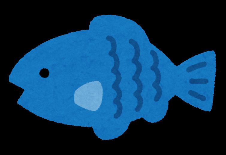 いろいろな色の小魚のイラスト かわいいフリー素材集 いらすとや