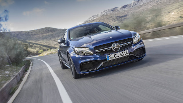 2017 New Mercedes-AMG C63 S Coupe Test Performance