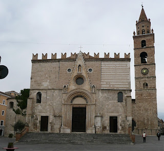The Duomo in Teramo with its 50-foot bell tower