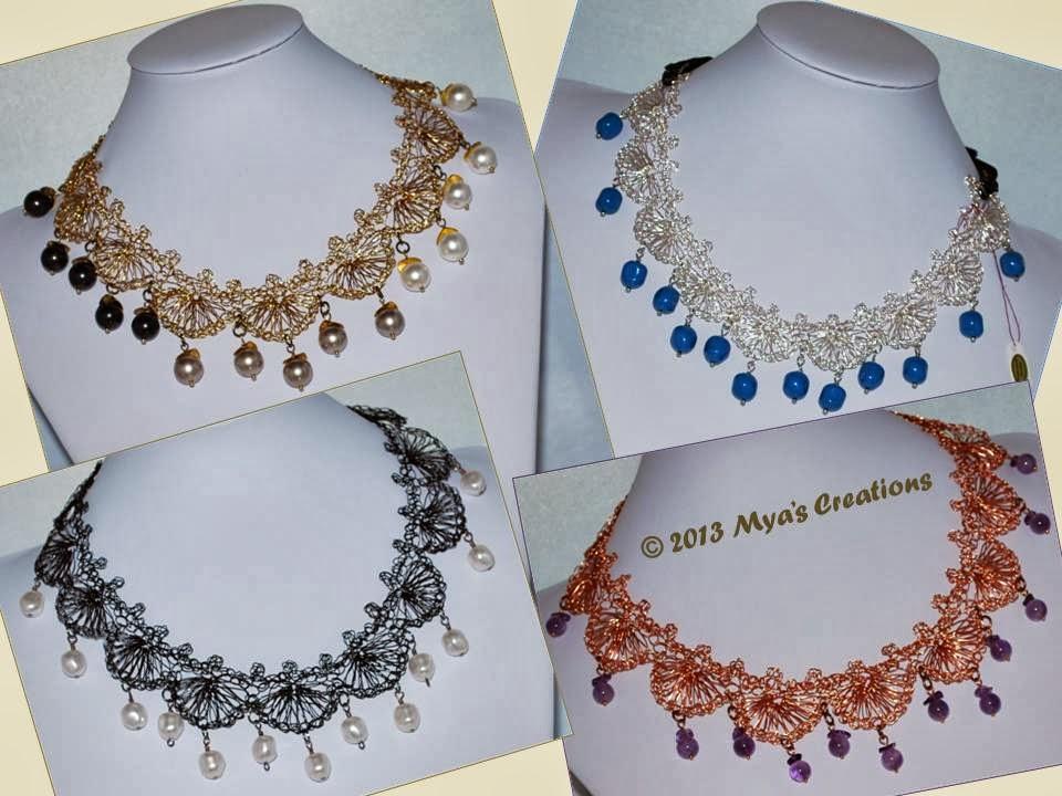 Cultivating creativity: diy crochet necklaces   crochet necklace.