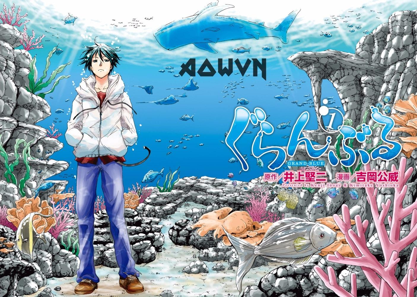 Grand%2BBlue%2B %2BPhatpro%2B%25282%2529 min - [ Anime 3gp Mp4 ] Grand Blue | Vietsub - Siêu Bựa - Cười Đau Bụng - Mùa Hè Mát Rượi!