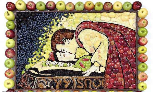 fruit decoration art
