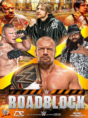 WWE Roadblock 2016 PPV Download
