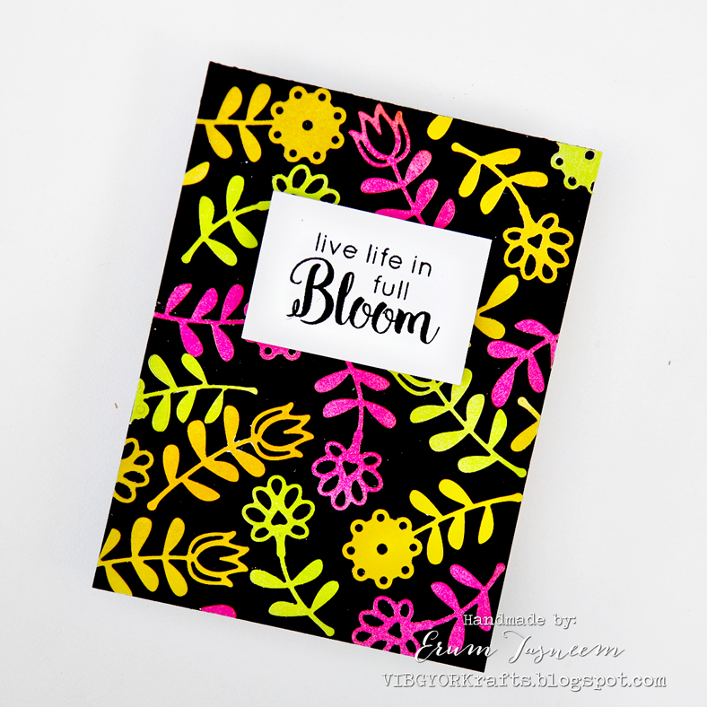 Spellbinders Smal Die of the Month January 2018 | Erum Tasneem | @pr0digy0 | @spellbinders