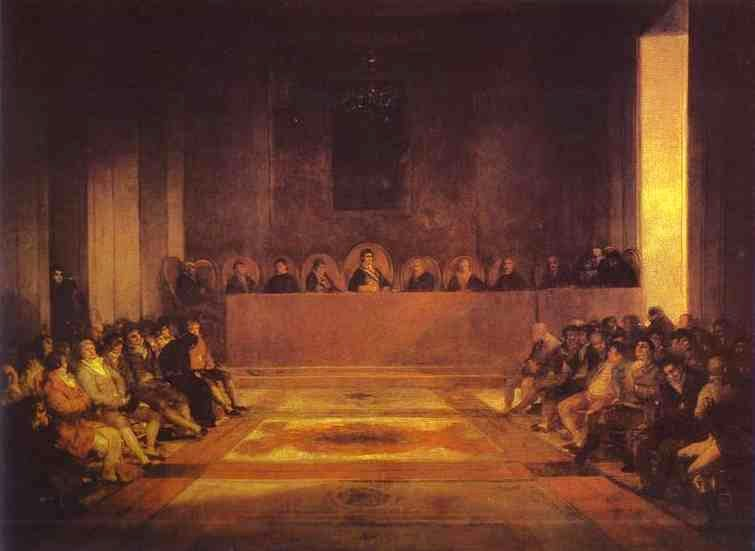 Junta das Filipinas - Goya, Francisco e suas pinturas ~ Foi um importante pintor espanhol da fase do Romantismo