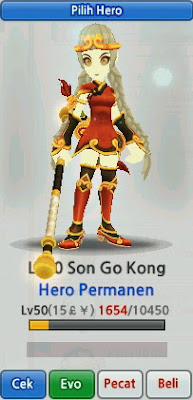Sun Go Kong Evolution Lost Saga Indonesia