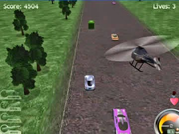 Highway Pursuit Screenshot