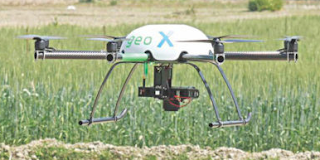Science-Innovation The drones are being used for agricultural research!