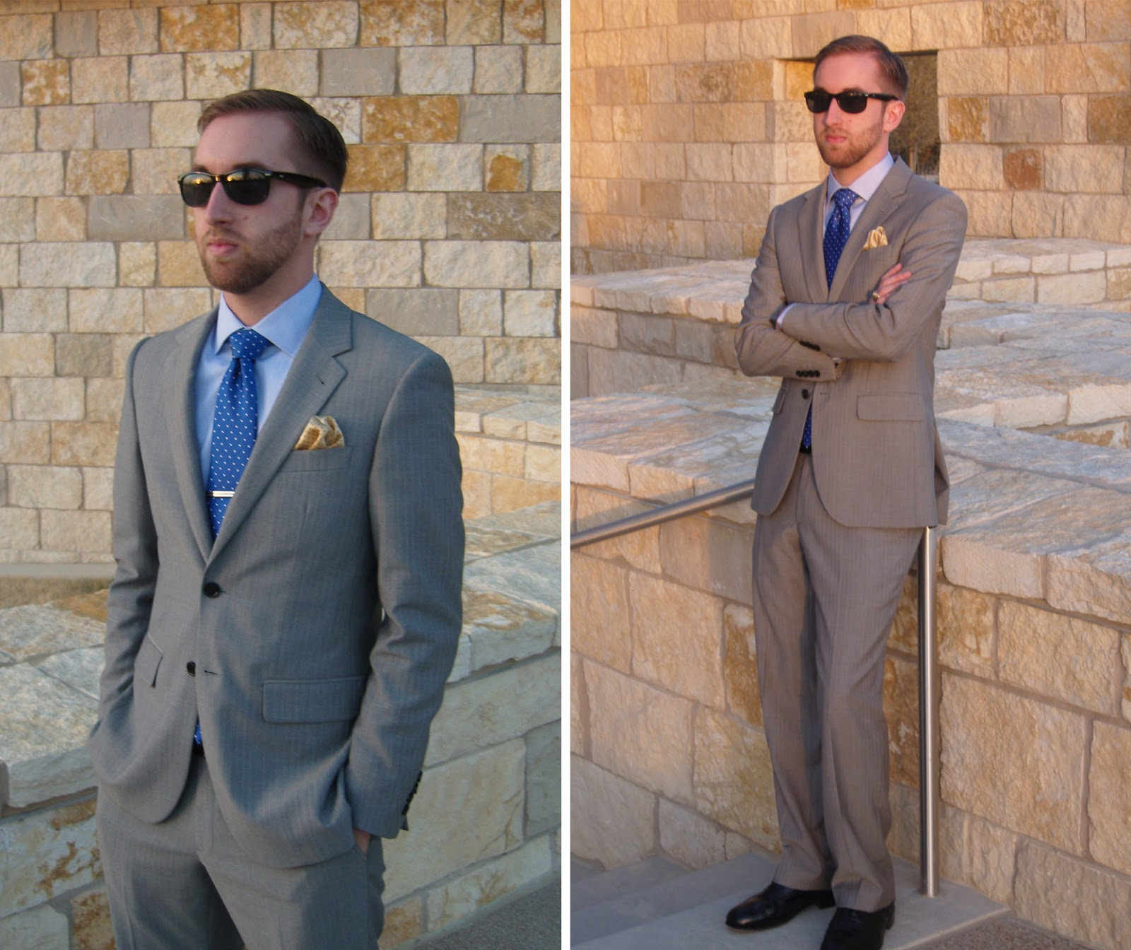 Suit Review: Indochino Essential Gray Herringbone by J Z  Bales