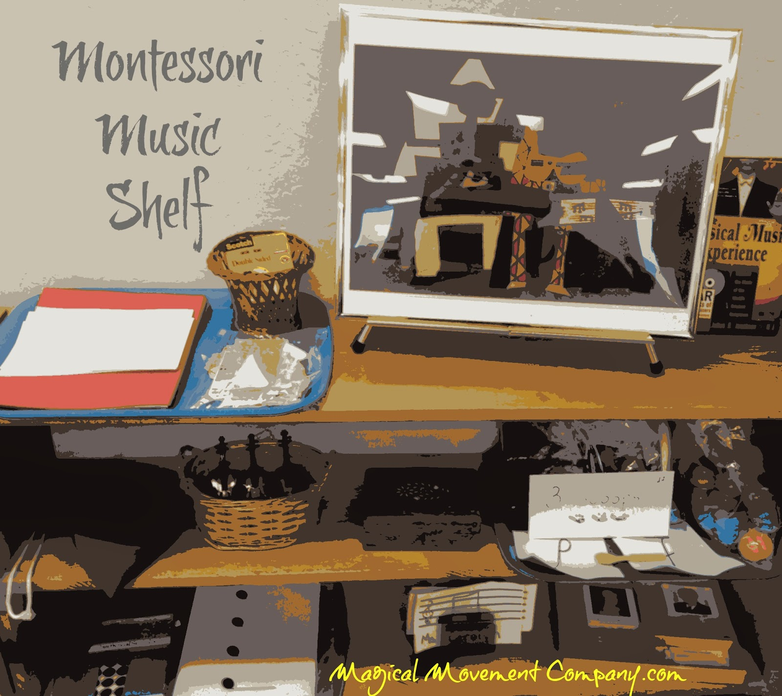 Music Lesson Plan Activities From The Montessori Music Shelf High