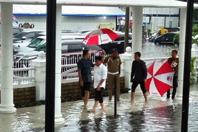 Cerita Gubernur Sumut Edy Rahmayadi Tegur Kepala Dinas Saat Banjir di Dekat Kantor Gubernur