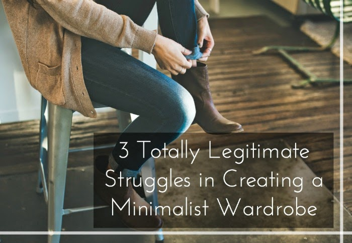 Why creating a minimalist wardrobe is hard