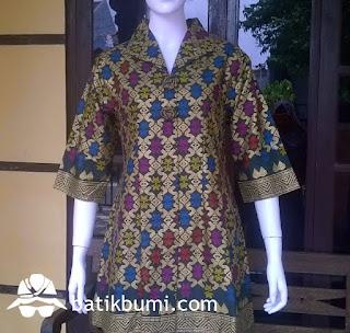tunik batik bali prada