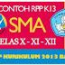 Silabus RPP K-13 SMA Revisi 2017 Terlengkap