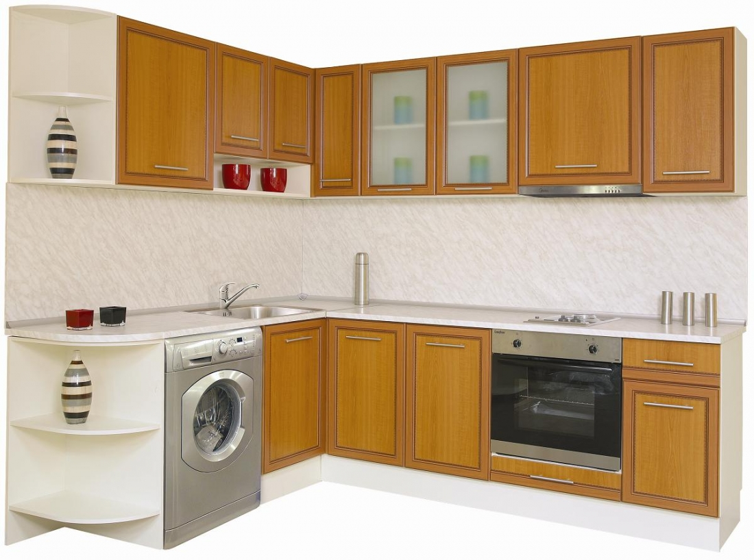 Modern kitchen cabinet designs an interior design for Latest kitchen furniture design