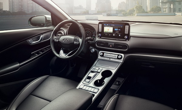 Interior Hyundai Kona EV