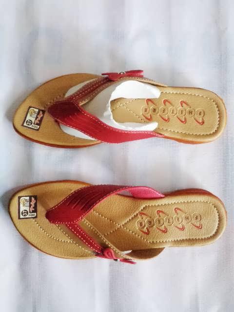 Sandal Fhiter wanita dewasa merah