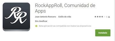 Red social de aplicaciones