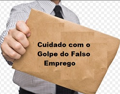 Golpe do Falso Emprego