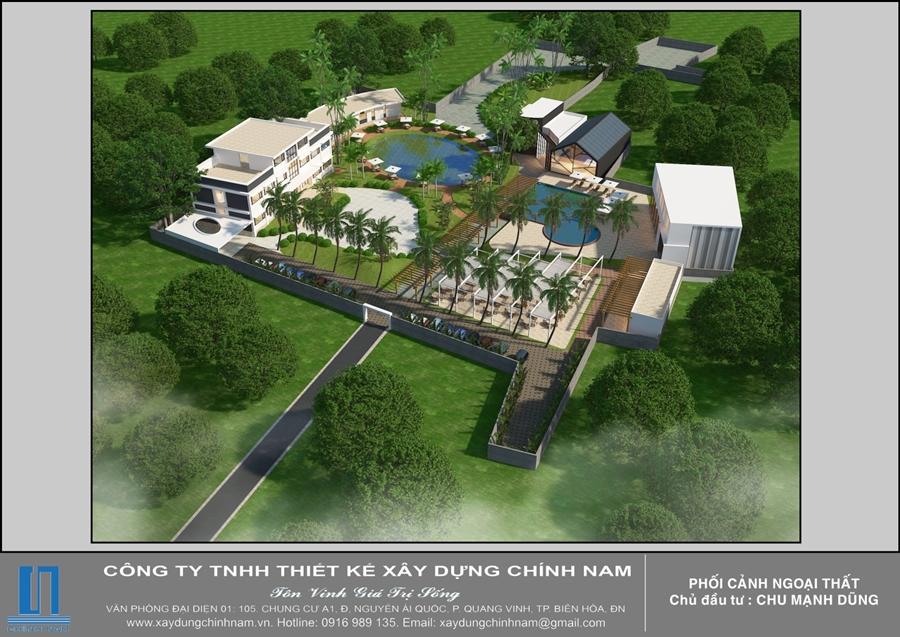 Thiết kế khách sạn và resort ở Đồng Nai và Tây Ninh