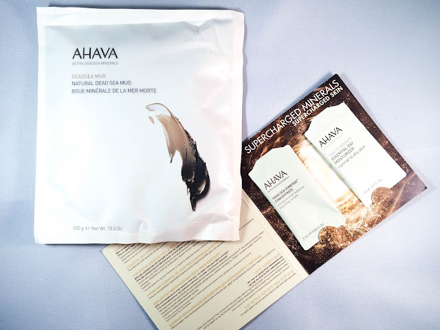 ahava natural dead sea mud mask slimming mud wrap